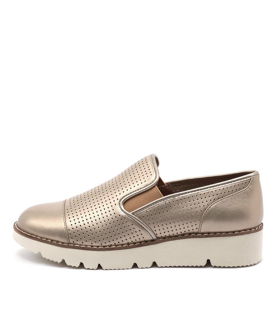 Diana Ferrari Balance Platinum Flat Shoes