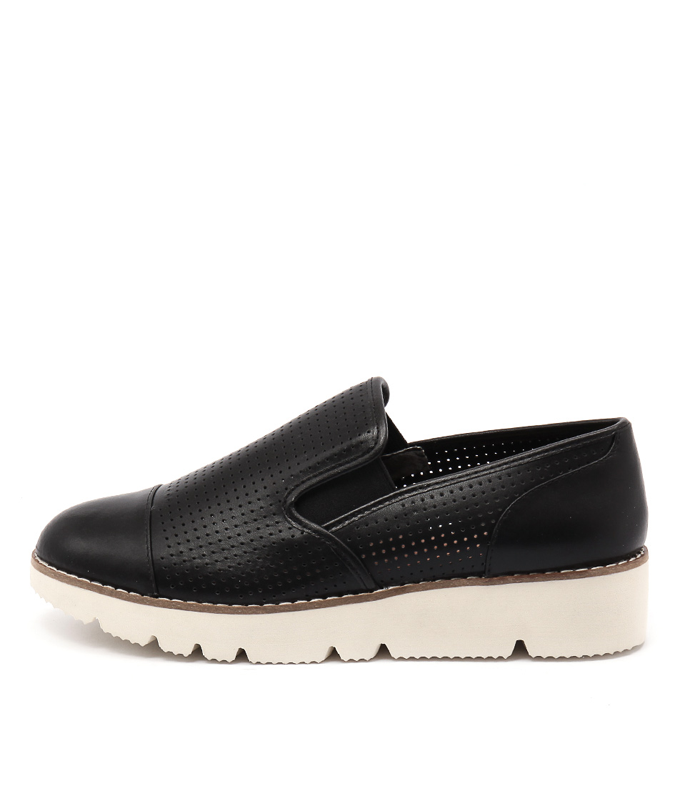 Diana Ferrari Balance Black Flat Shoes