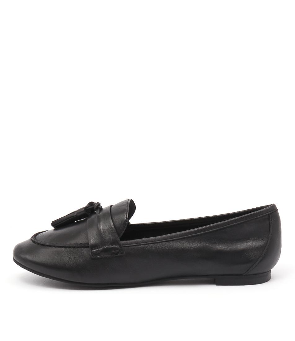 Diana Ferrari Yara Black Flats
