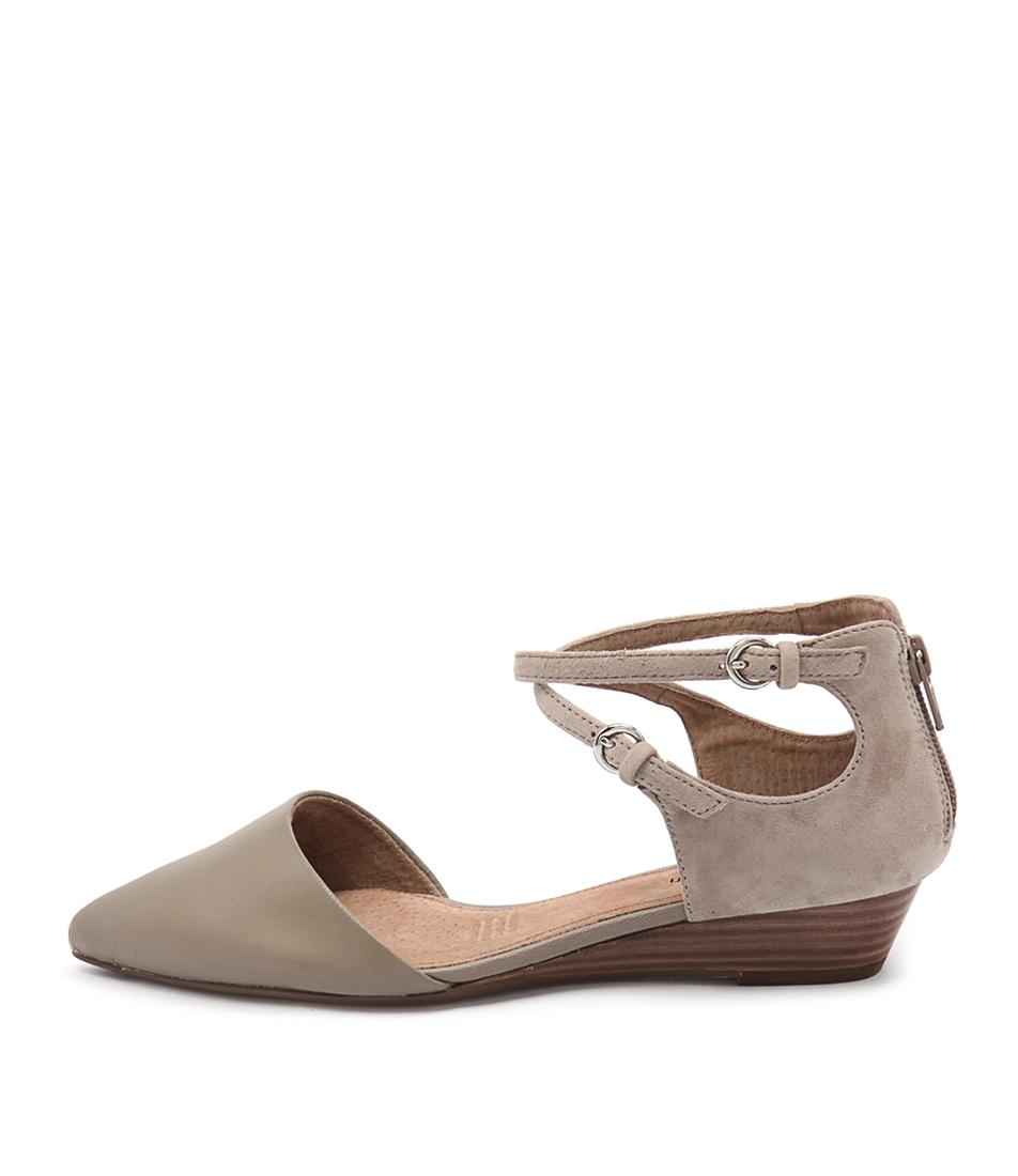 Diana Ferrari Pompeii Mink Flat Shoes