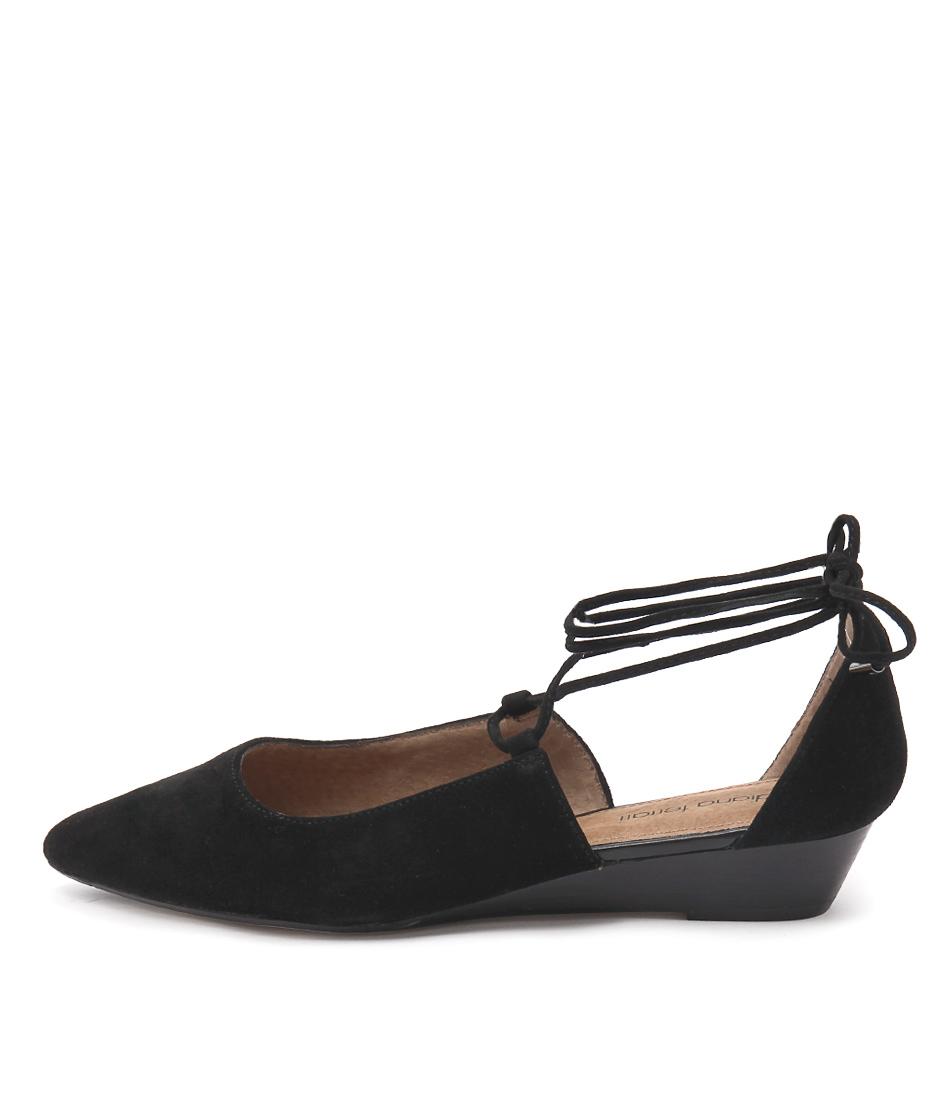 Diana Ferrari Prague Black Casual Flat Shoes