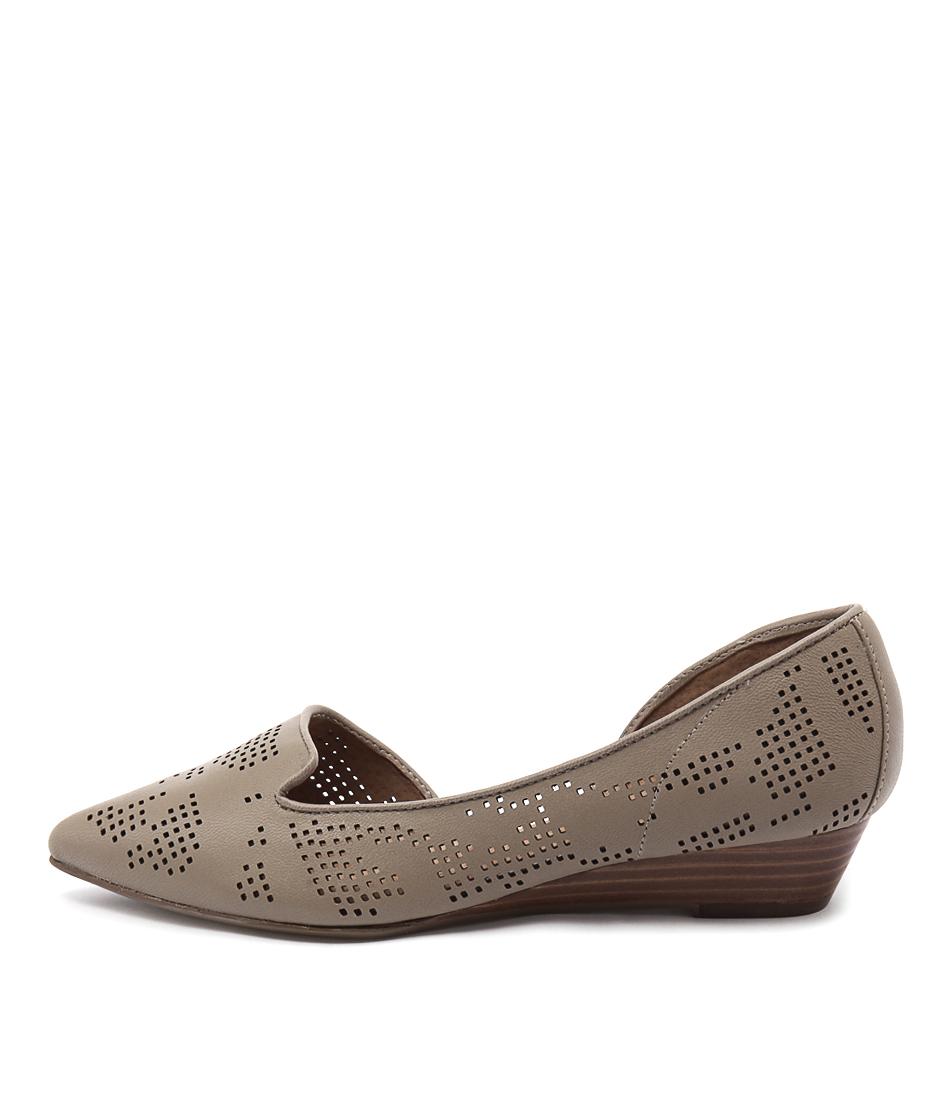 Diana Ferrari Prince Mink Flat Shoes  online