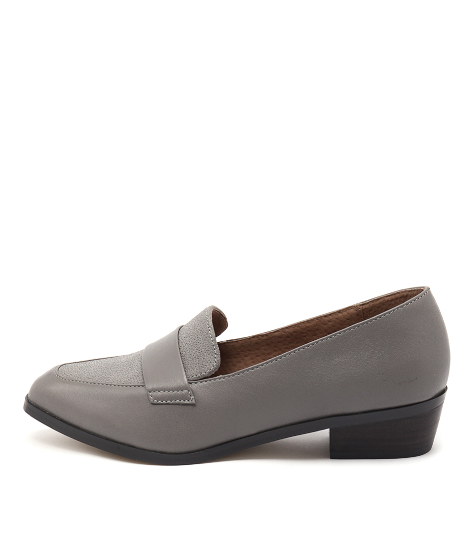 Diana Ferrari Anja Light Grey Drop Casual Flat Shoes