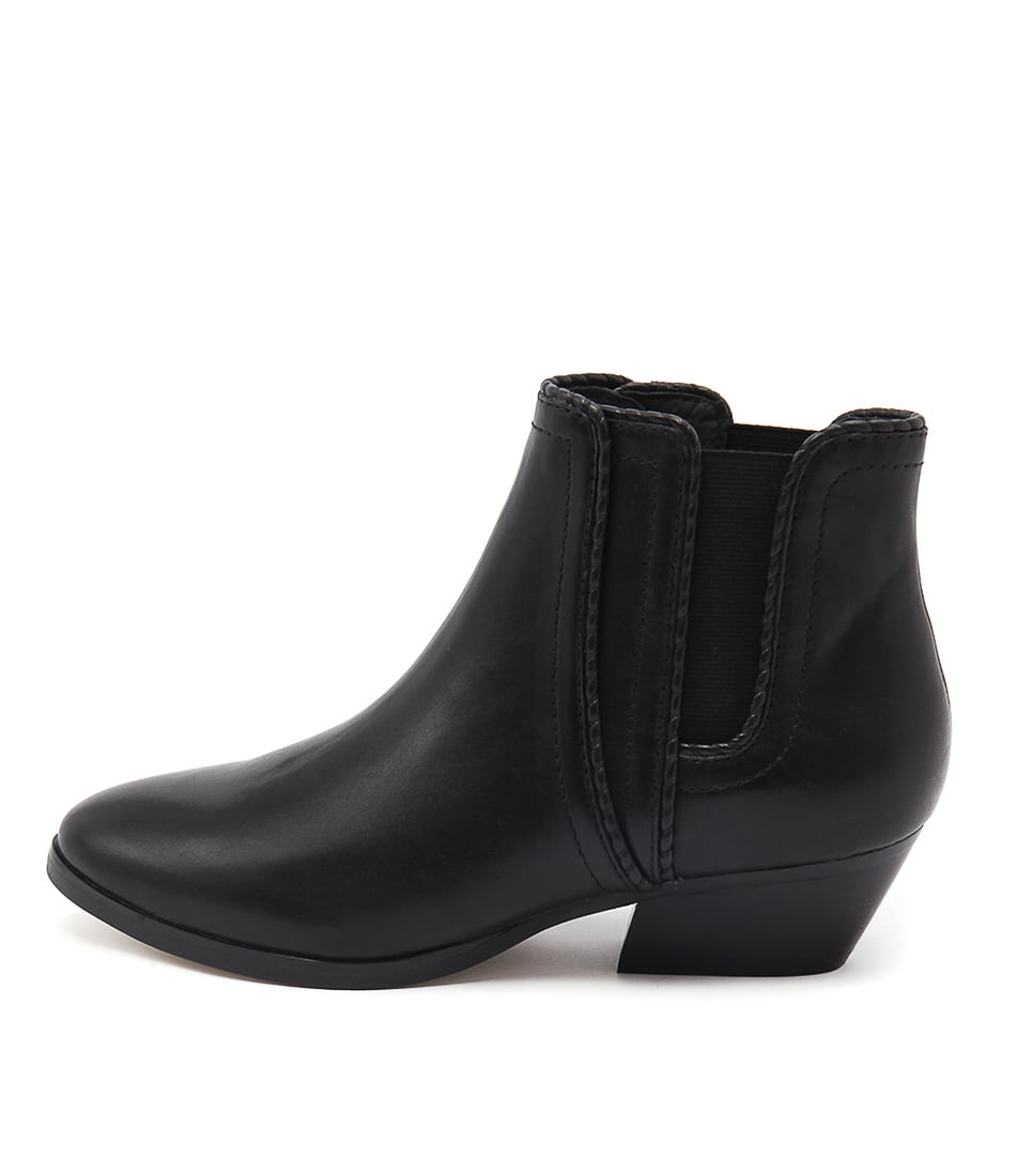 Diana Ferrari Whistler Black Casual Ankle Boots