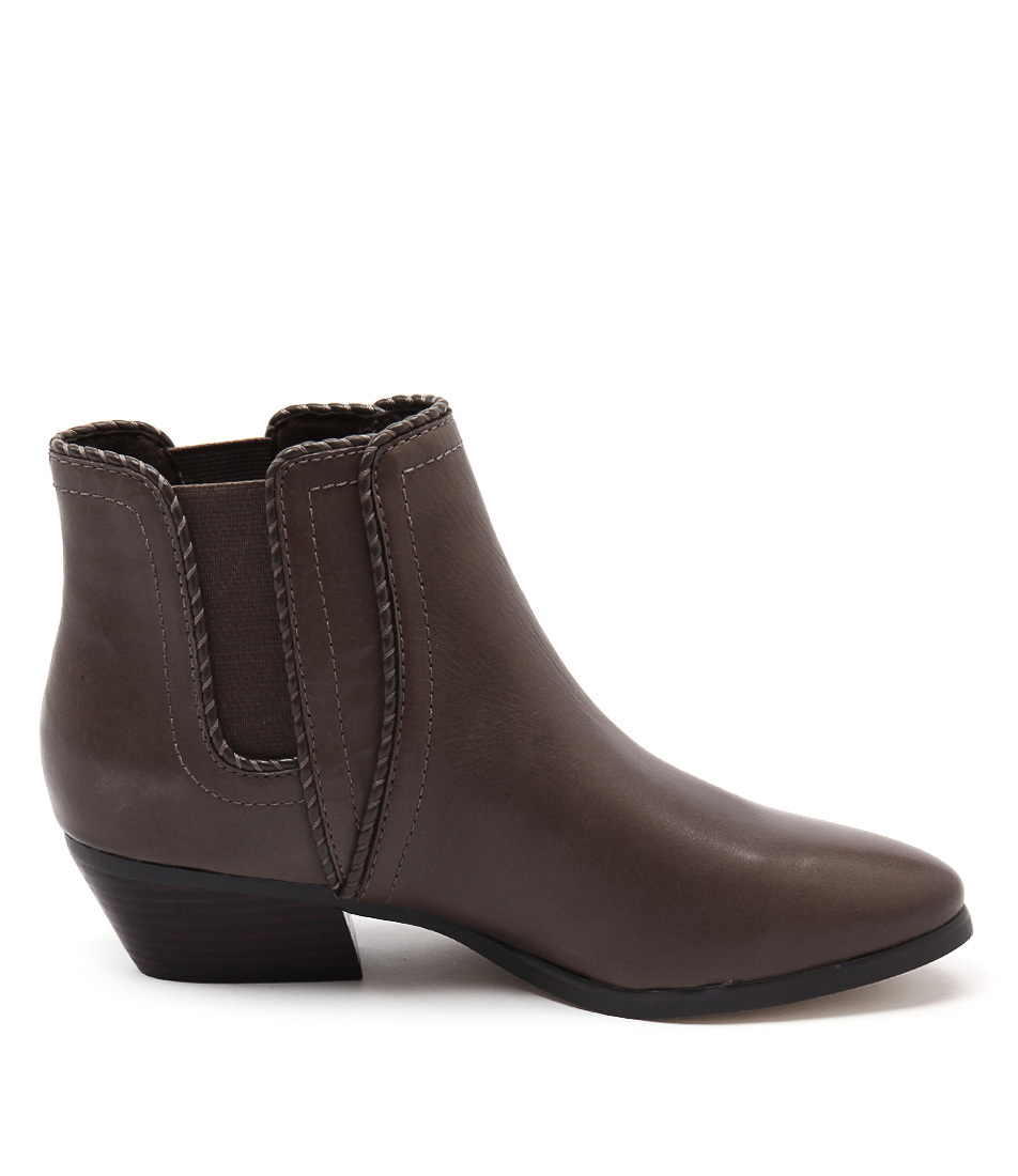 New Diana Ferrari Whistler Taupe Womens Shoes Casual Boots