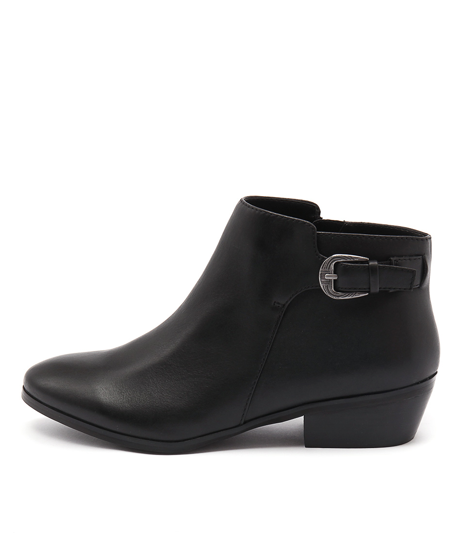Diana Ferrari Gipsy Black Ankle Boots
