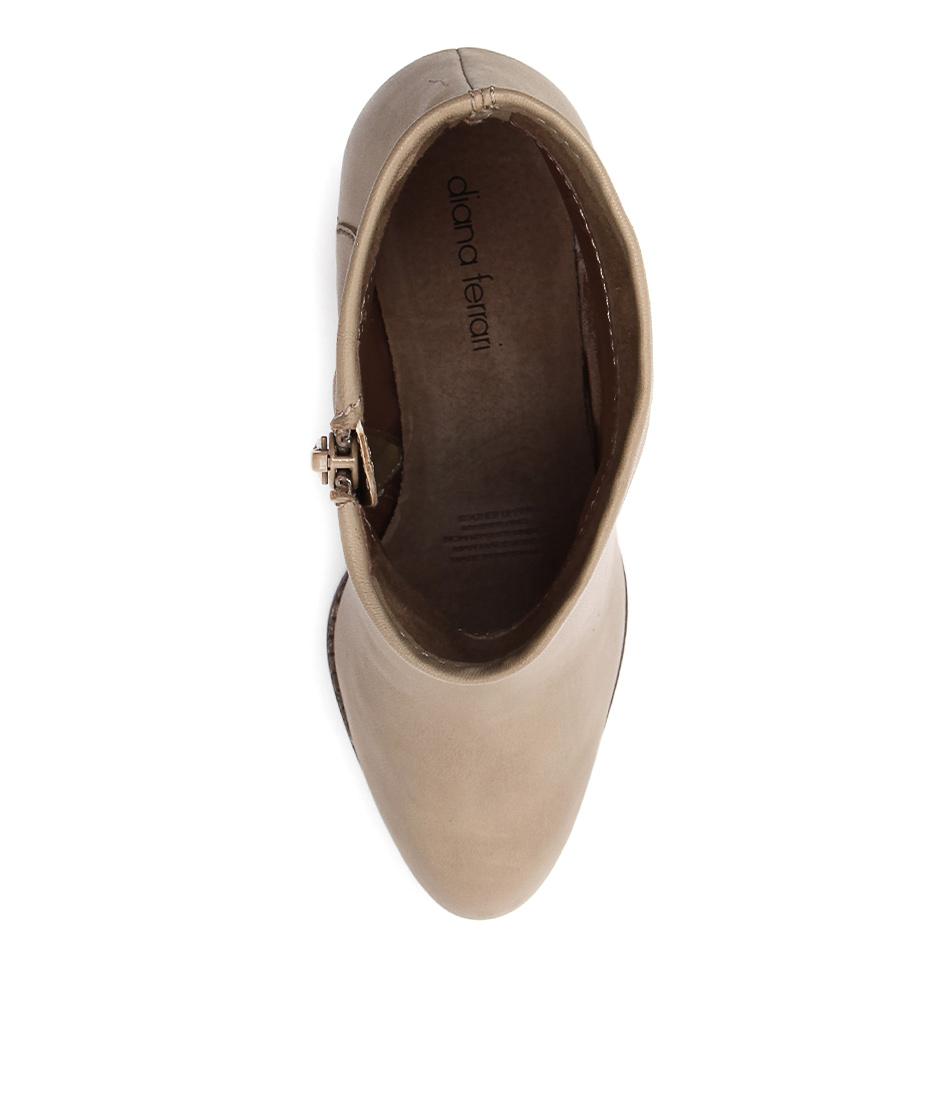 New Diana Ferrari Loredo Beige Womens Shoes Casual Boots