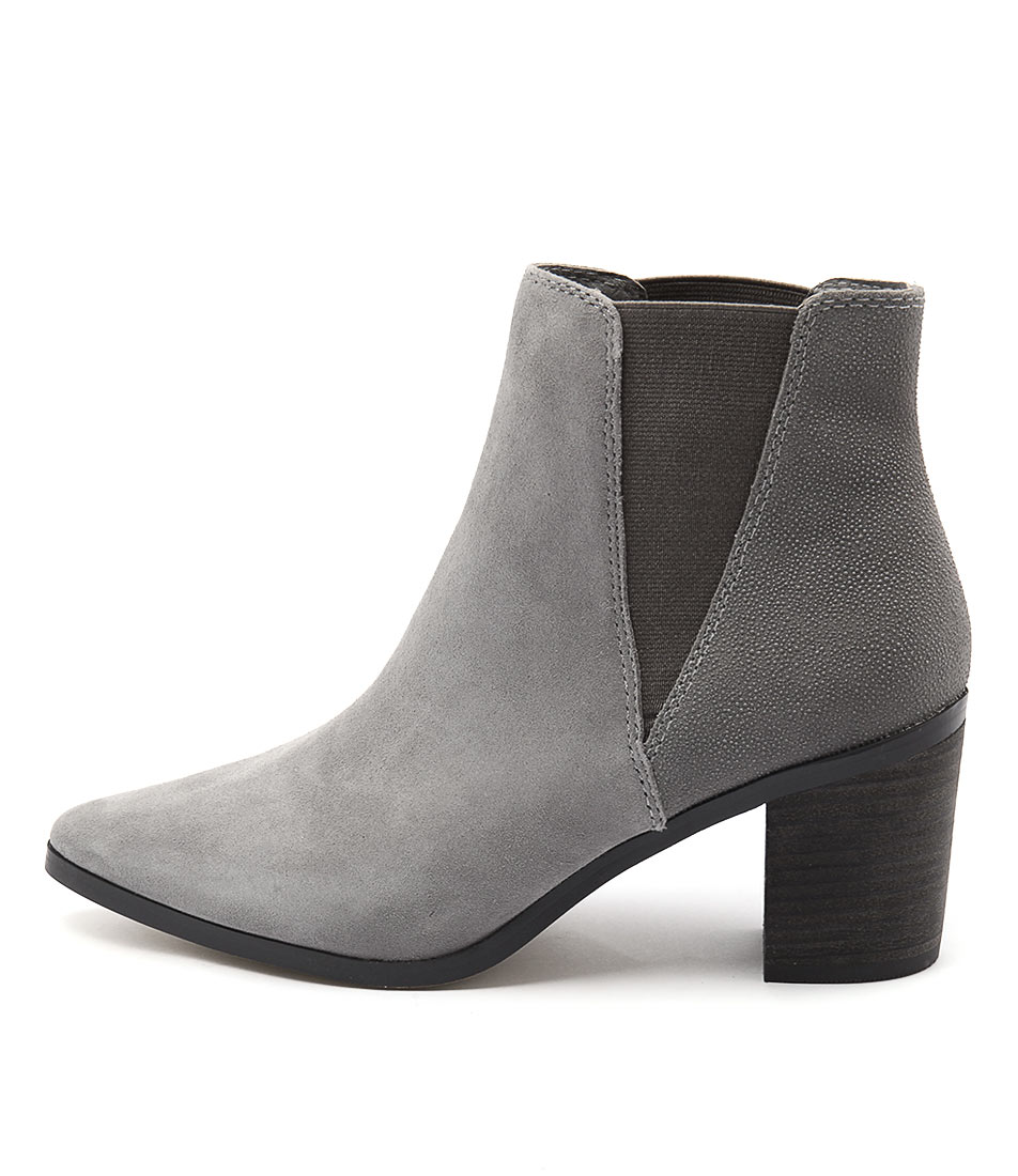 Diana Ferrari Meadow Grey Drops Ankle Boots