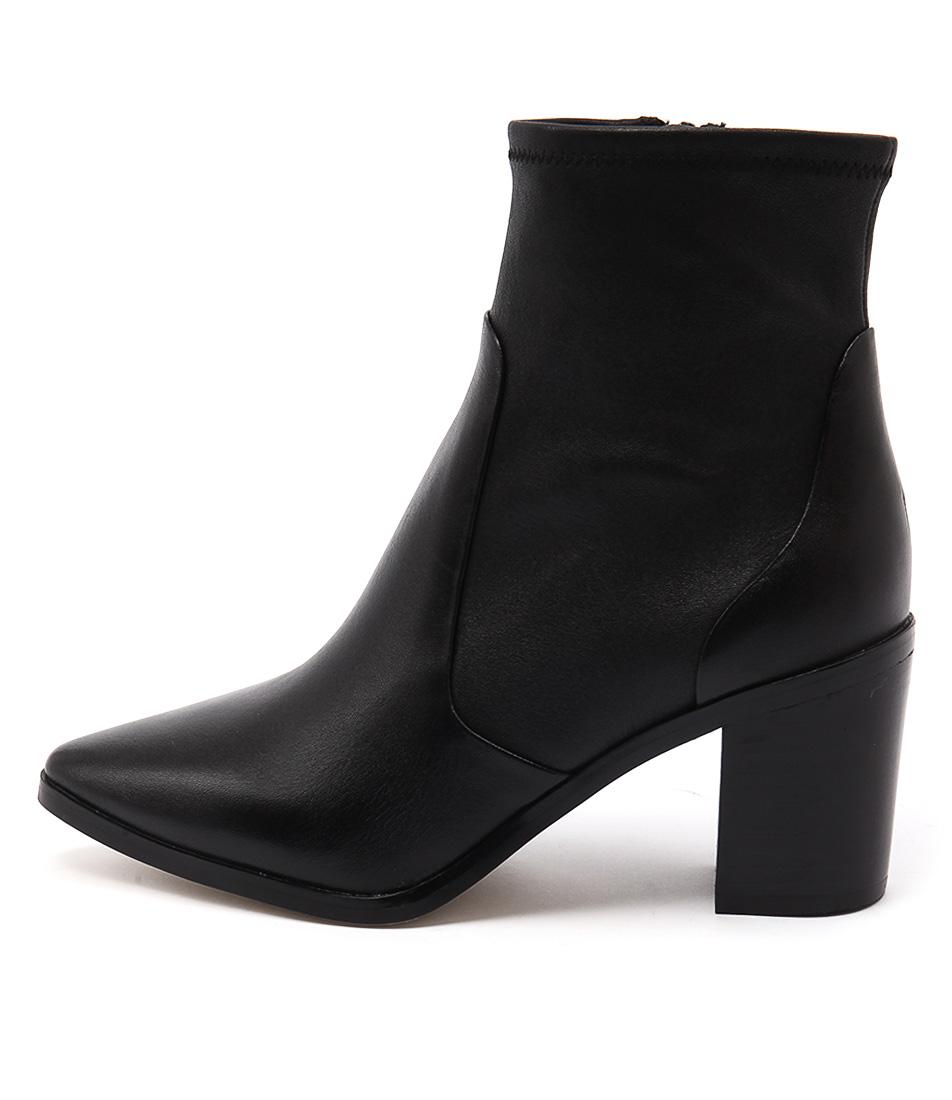 Diana Ferrari Mim Black Casual Ankle Boots
