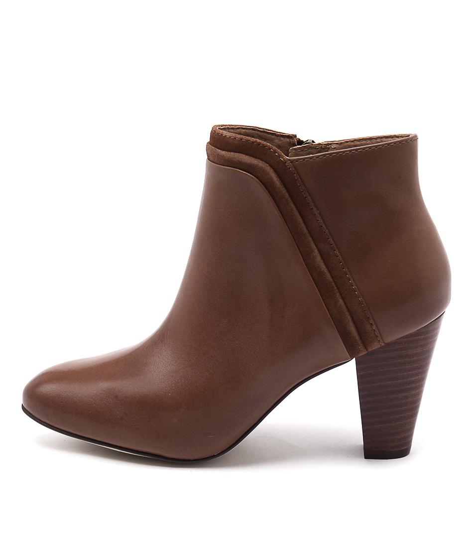 Diana Ferrari Vasco Tan Casual Ankle Boots
