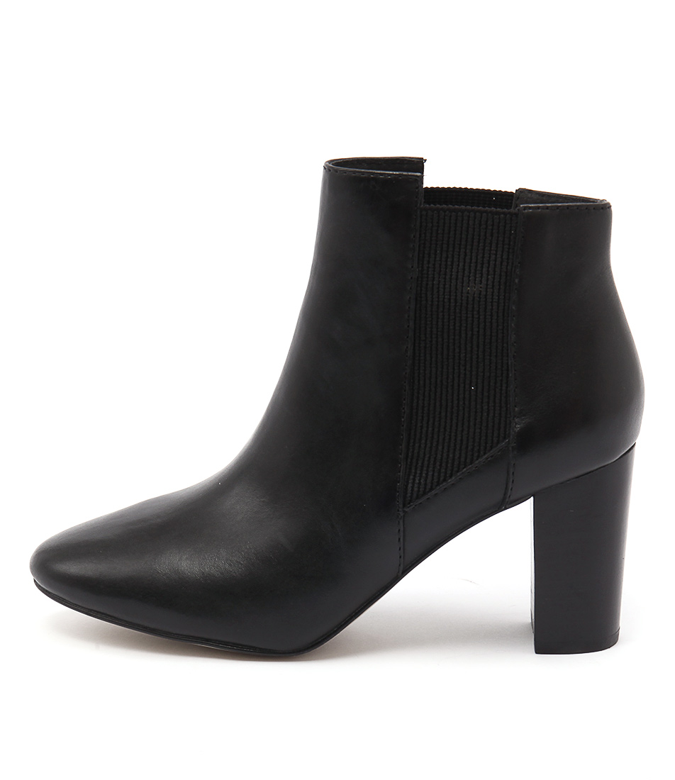 Diana Ferrari Endia Black Ankle Boots