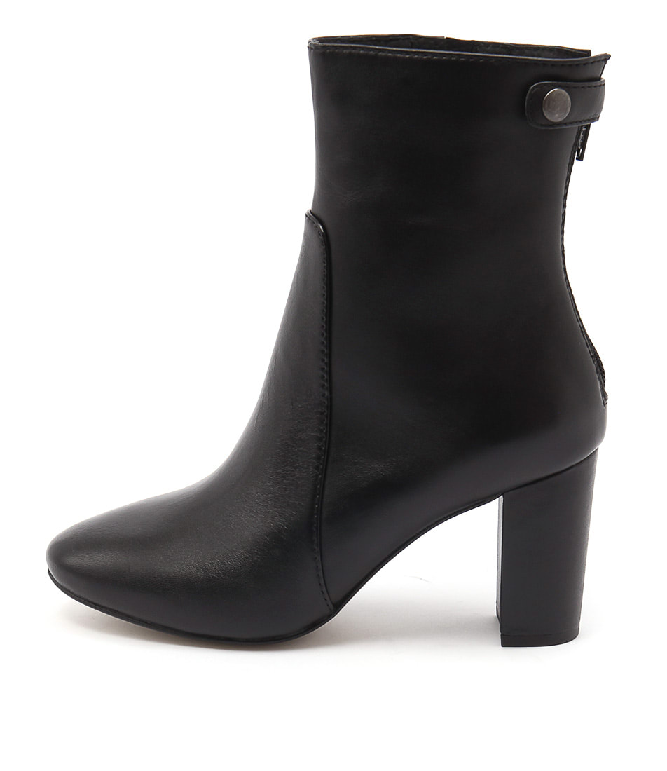 Diana Ferrari Elvie Black Ankle Boots