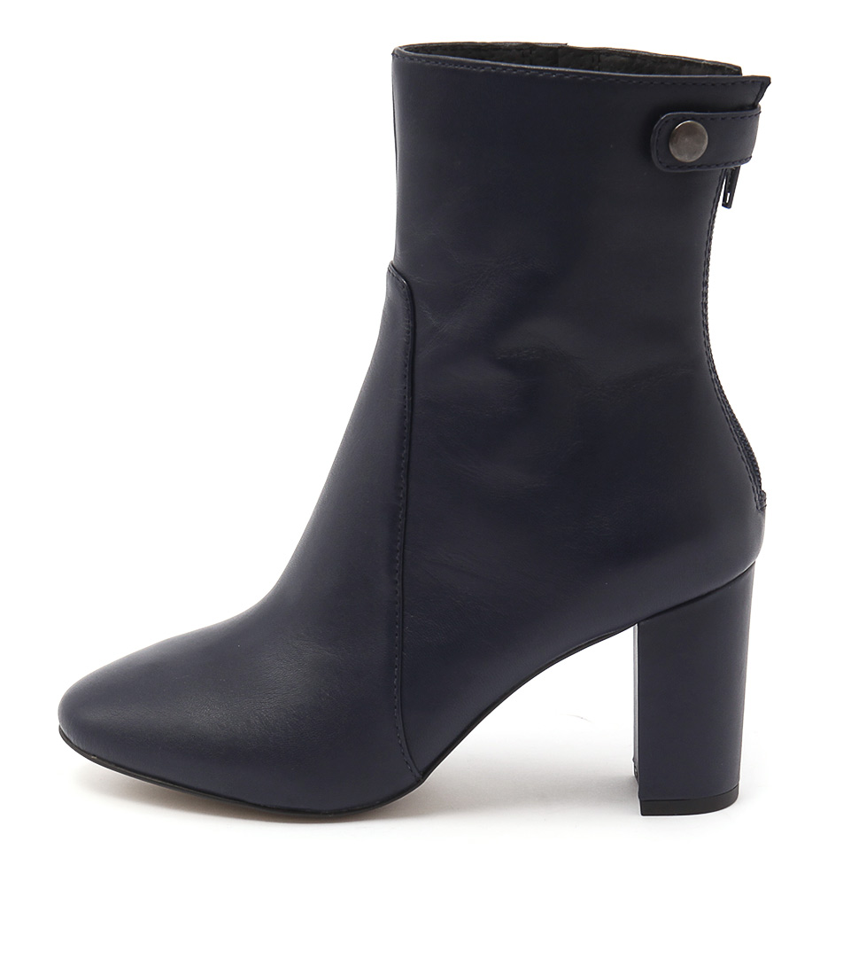 Diana Ferrari Elvie Blue Ankle Boots