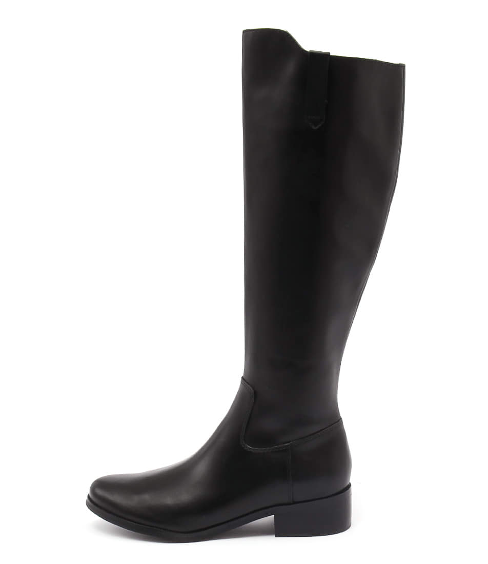Diana Ferrari Anchor Black Casual Long Boots