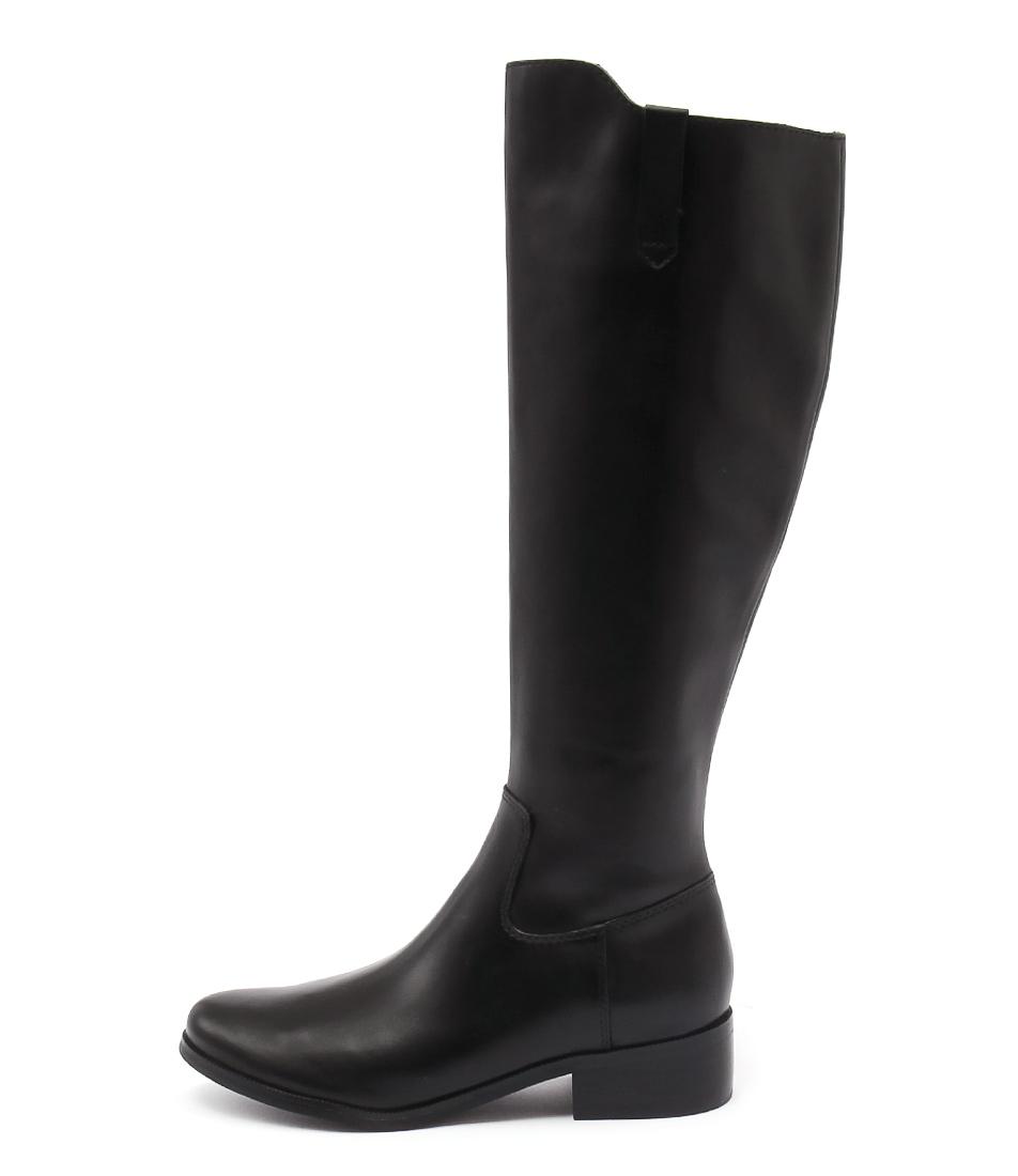 Diana Ferrari Anchor Black Long Boots