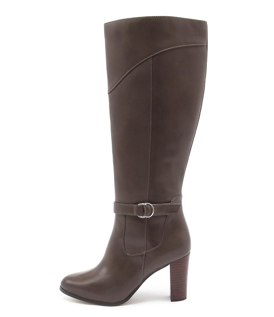 Photo of Diana Ferrari Folsom Taupe Long Boots womens shoes
