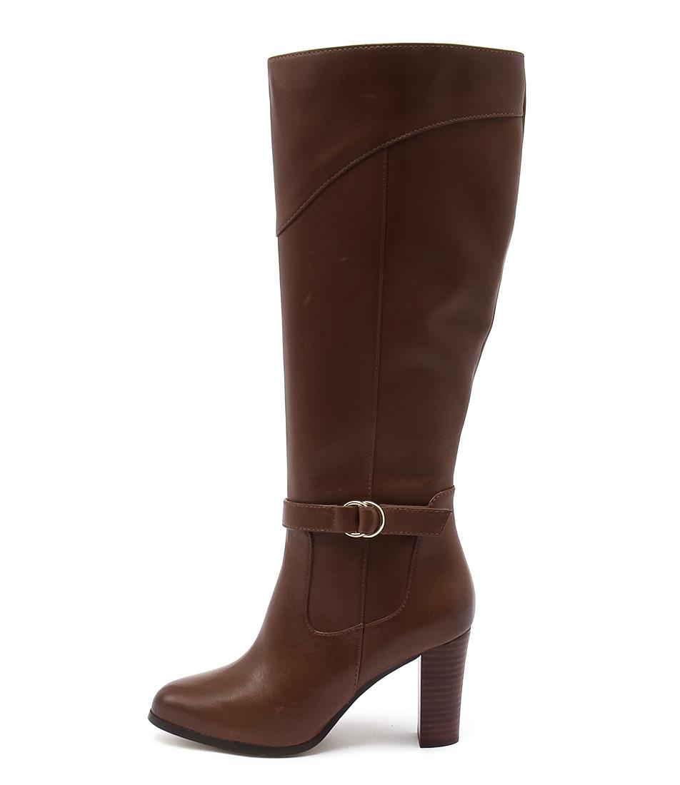 Diana Ferrari Folsom Tan Long Boots