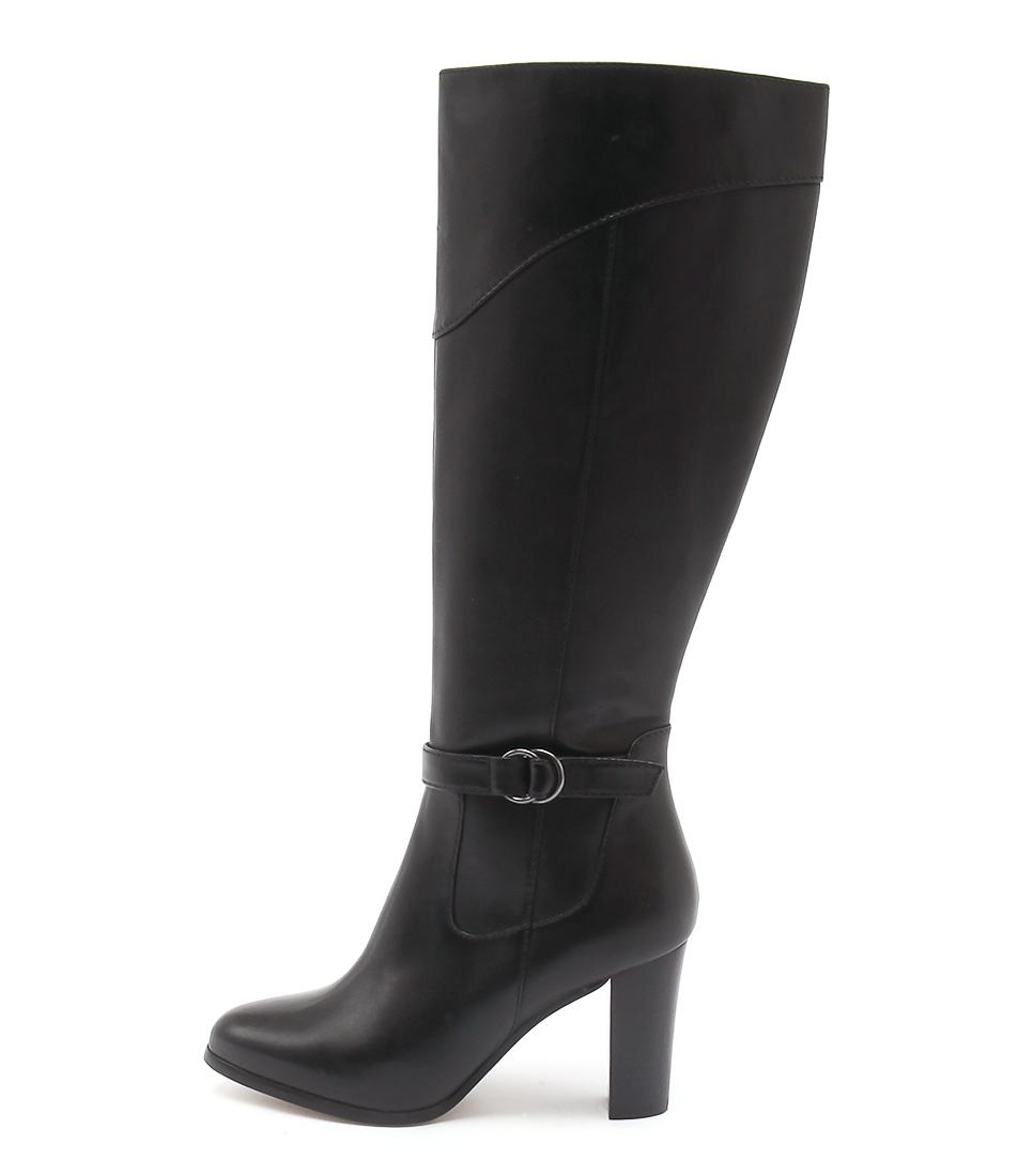 Diana Ferrari Folsom Black Long Boots