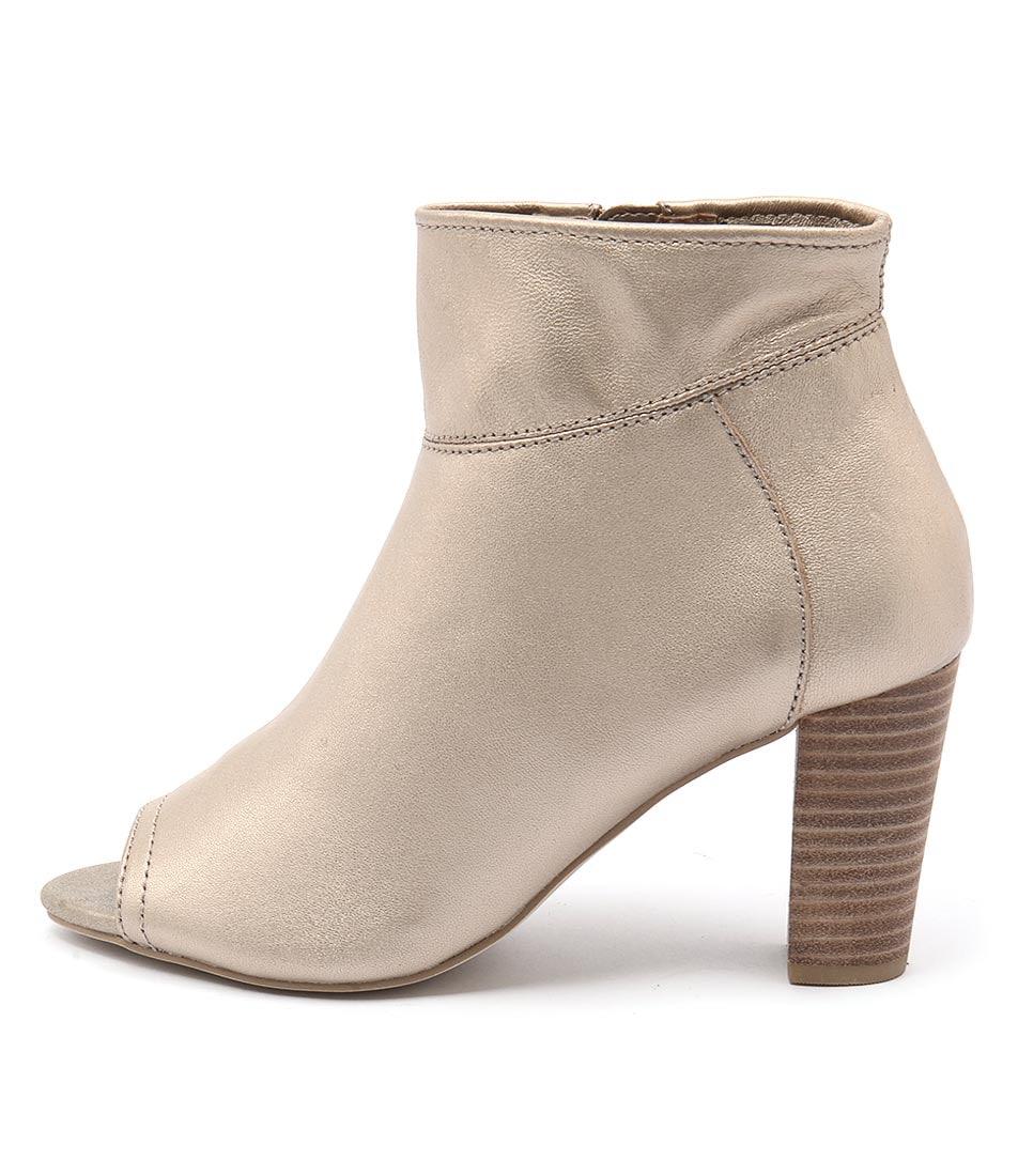 Diana Ferrari Nolita Platinum Ankle Boots