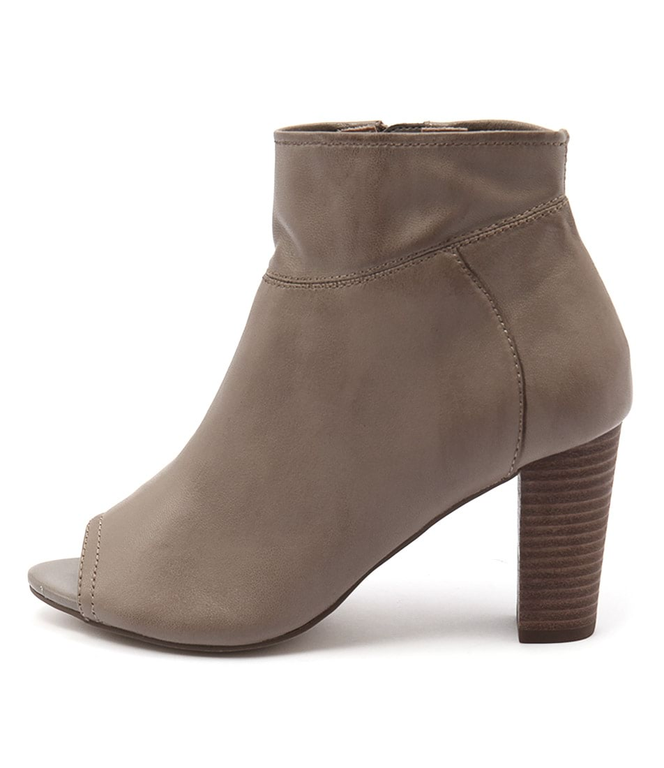 Photo of Diana Ferrari Nolita Taupe Ankle Boots womens shoes