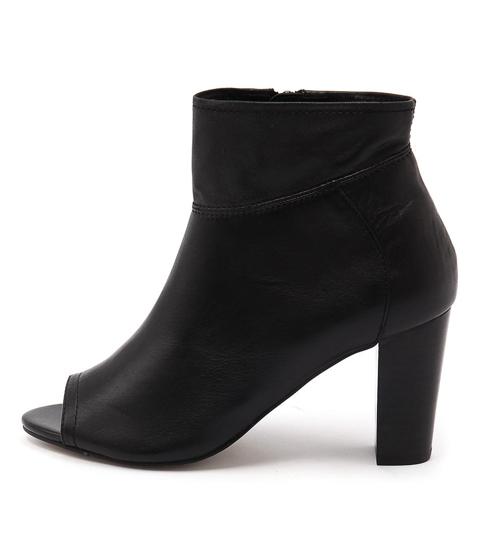 Diana Ferrari Nolita Black Casual Ankle Boots