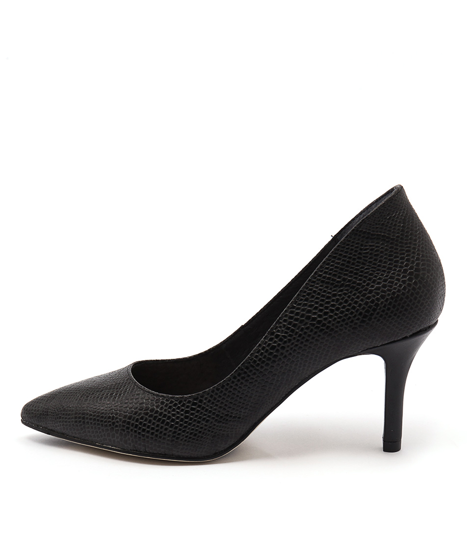 Diana Ferrari Katinka Black Heeled Shoes