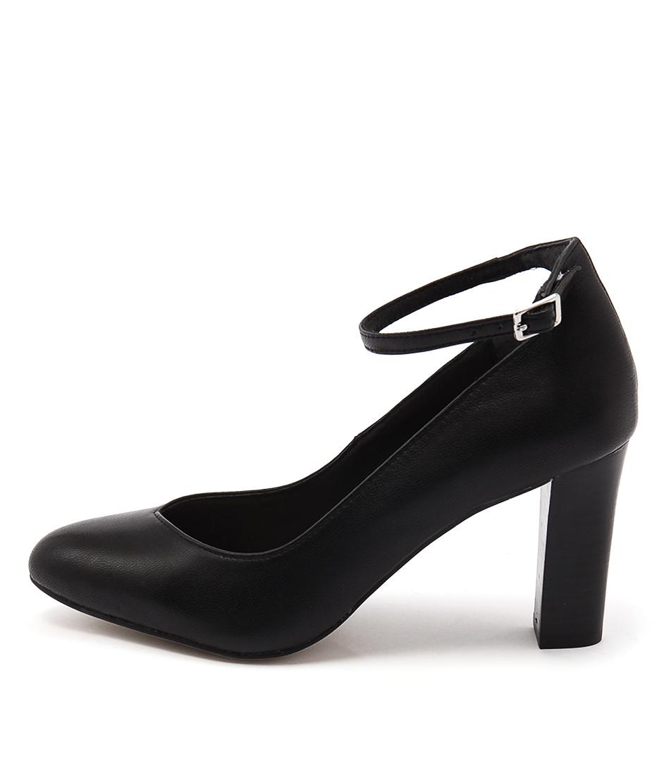 Diana Ferrari Lianne Black Heeled Shoes