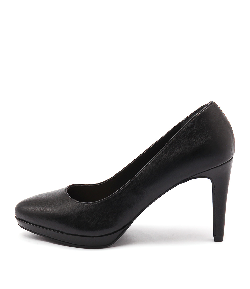 Diana Ferrari Gabriette Black Dress Heeled Shoes