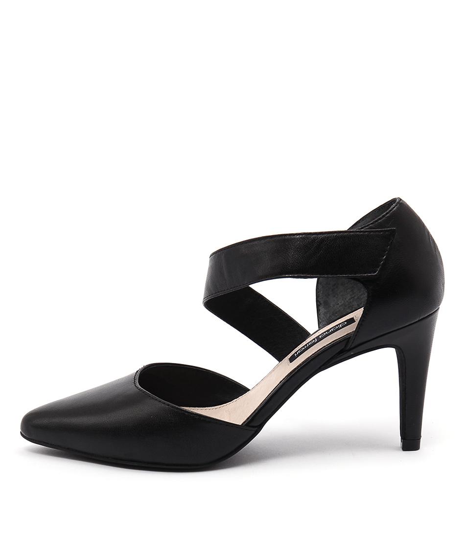 Diana Ferrari Teague Black Heeled Shoes