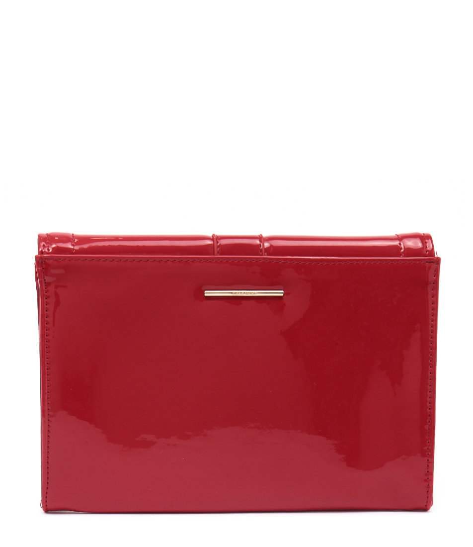 Diana Ferrari Chante Clutch Red Bags