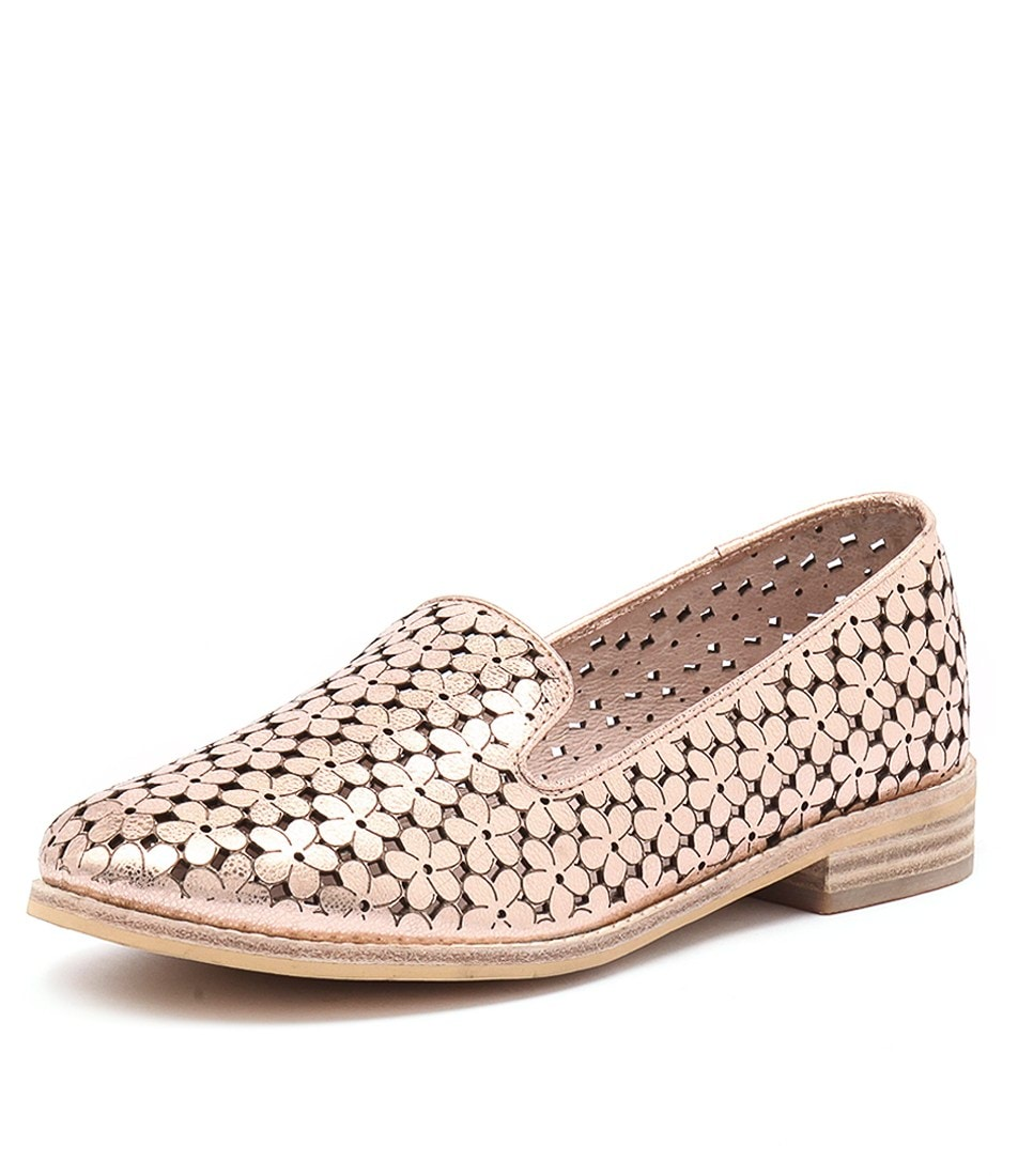 New Django & Juliette Anson Rose Gold Metallic Rose Gold Metallic Womens  Shoes | eBay