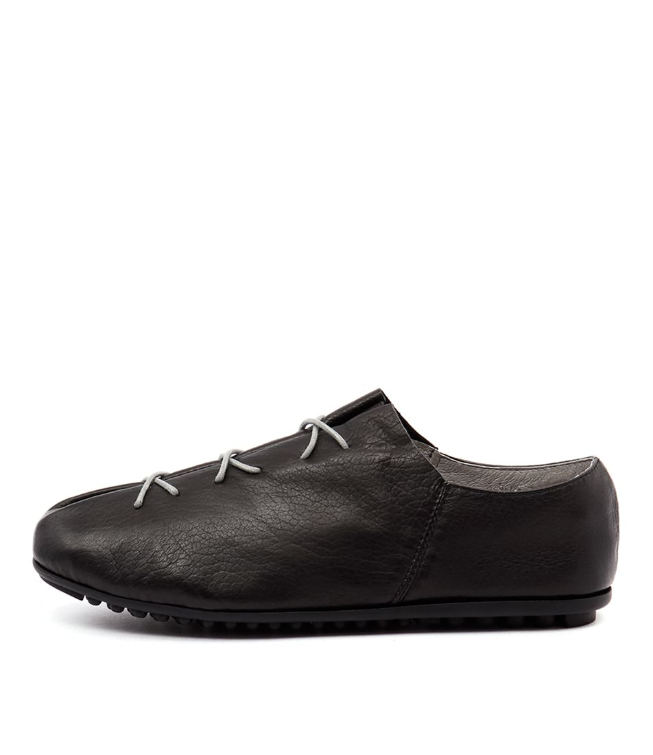 Django & Juliette Barlow Black Flat Shoes