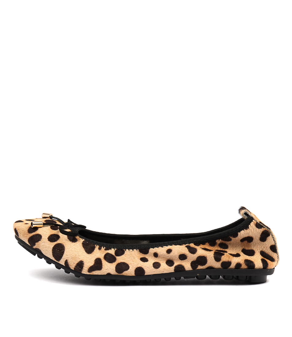 Buy Django & Juliette Belin Leopard Flats online with free shipping