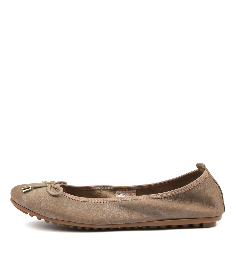 Buy Django & Juliette Belin Taupe Flats online with free shipping