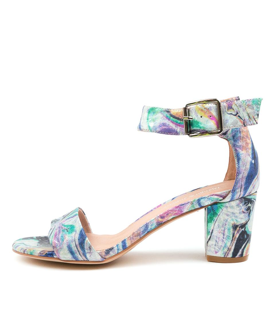Buy Django & Juliette Cassier Glisten Multi Heeled Sandals online with free shipping