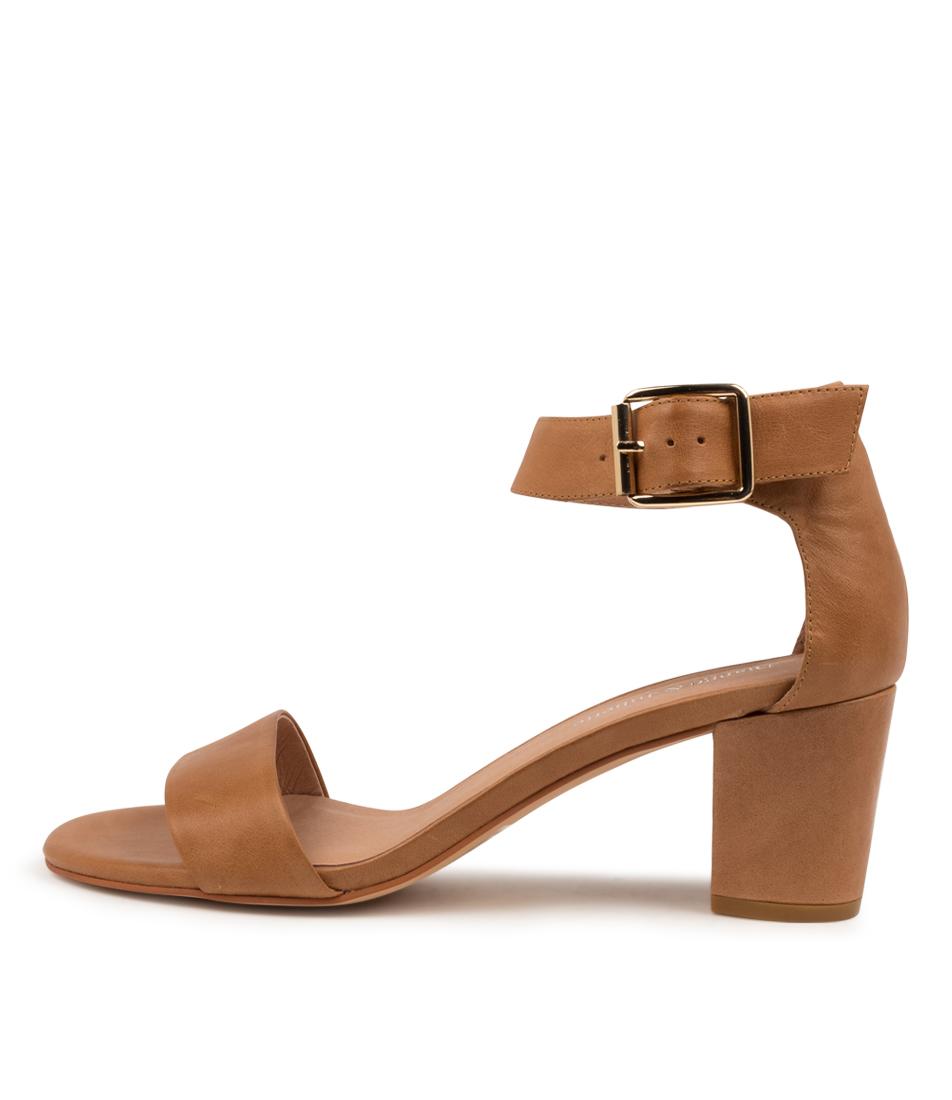 Buy Django & Juliette Cassier Tan Heeled Sandals online with free shipping