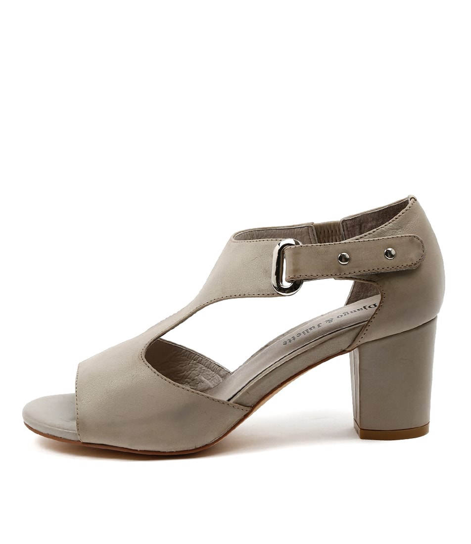 Django & Juliette Cecily Grey Sandals
