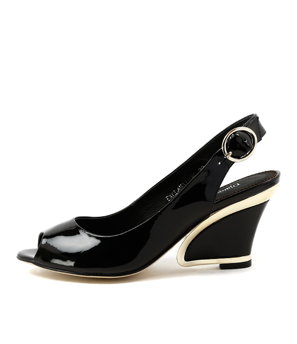 Buy Django & Juliette Exclamation Black High Heels online with free shipping