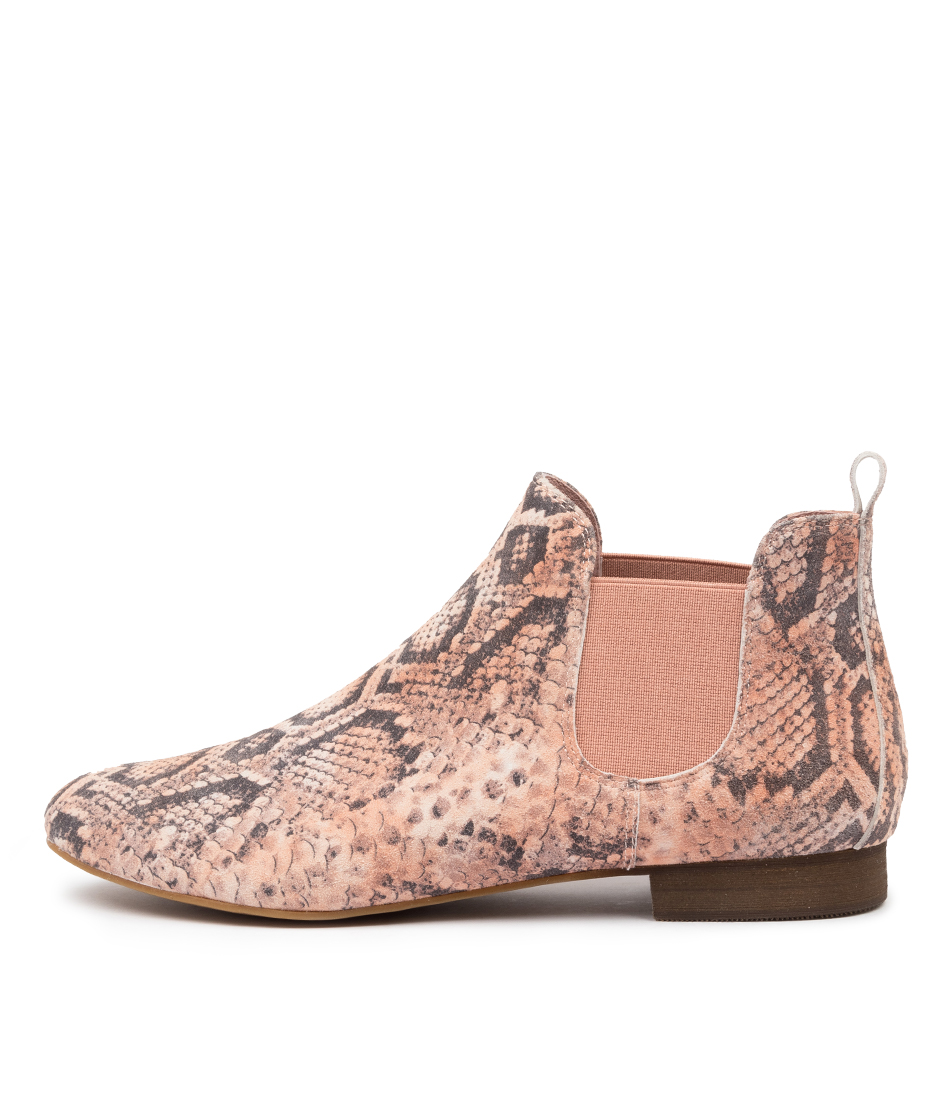 Buy Django & Juliette Glenvale Nude Ankle Boots online with free shipping