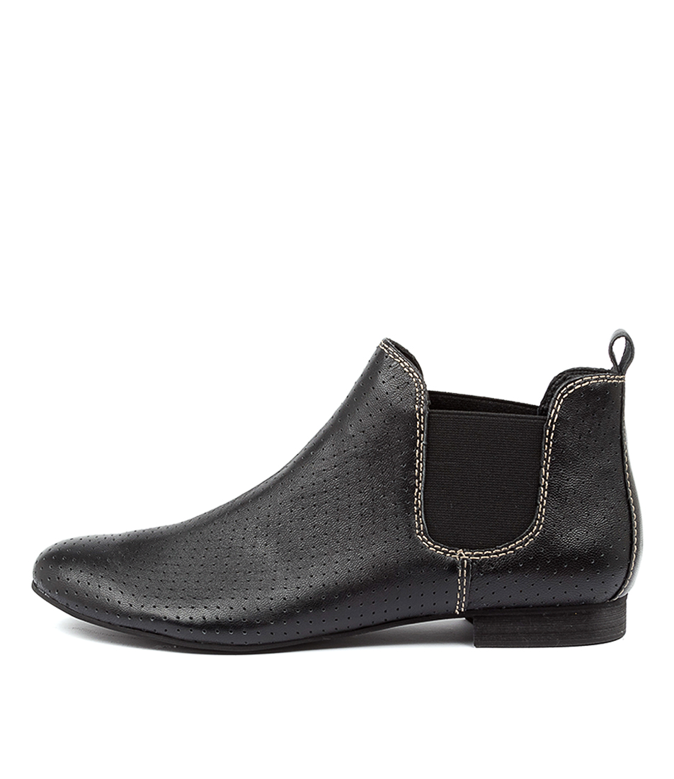 Buy Django & Juliette Global Black Ankle Boots online with free shipping