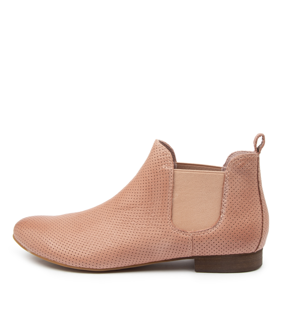Buy Django & Juliette Global Warm Rose Ankle Boots online with free shipping