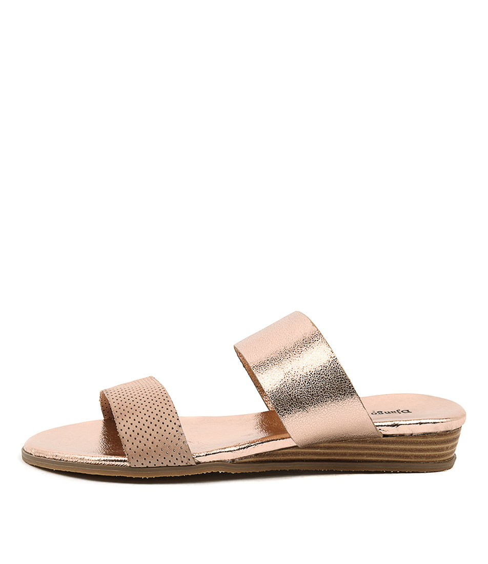 Django & Juliette Hadmy Nude Rose Gold Sandals