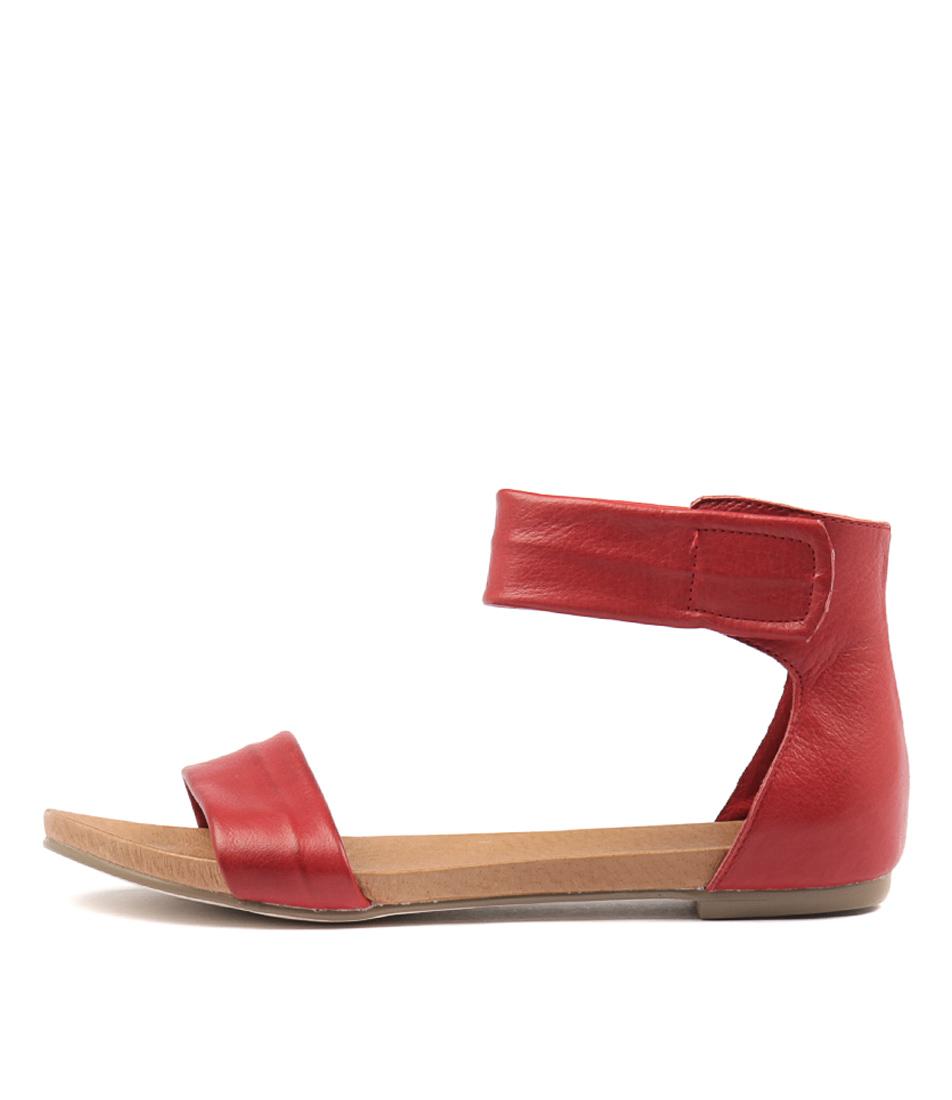 Django & Juliette Juzz Red Sandals