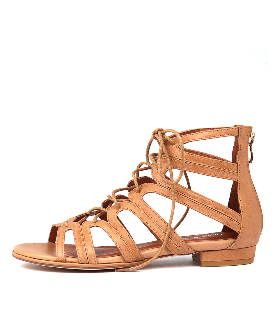 Django & Juliette Odessa Tan Sandals