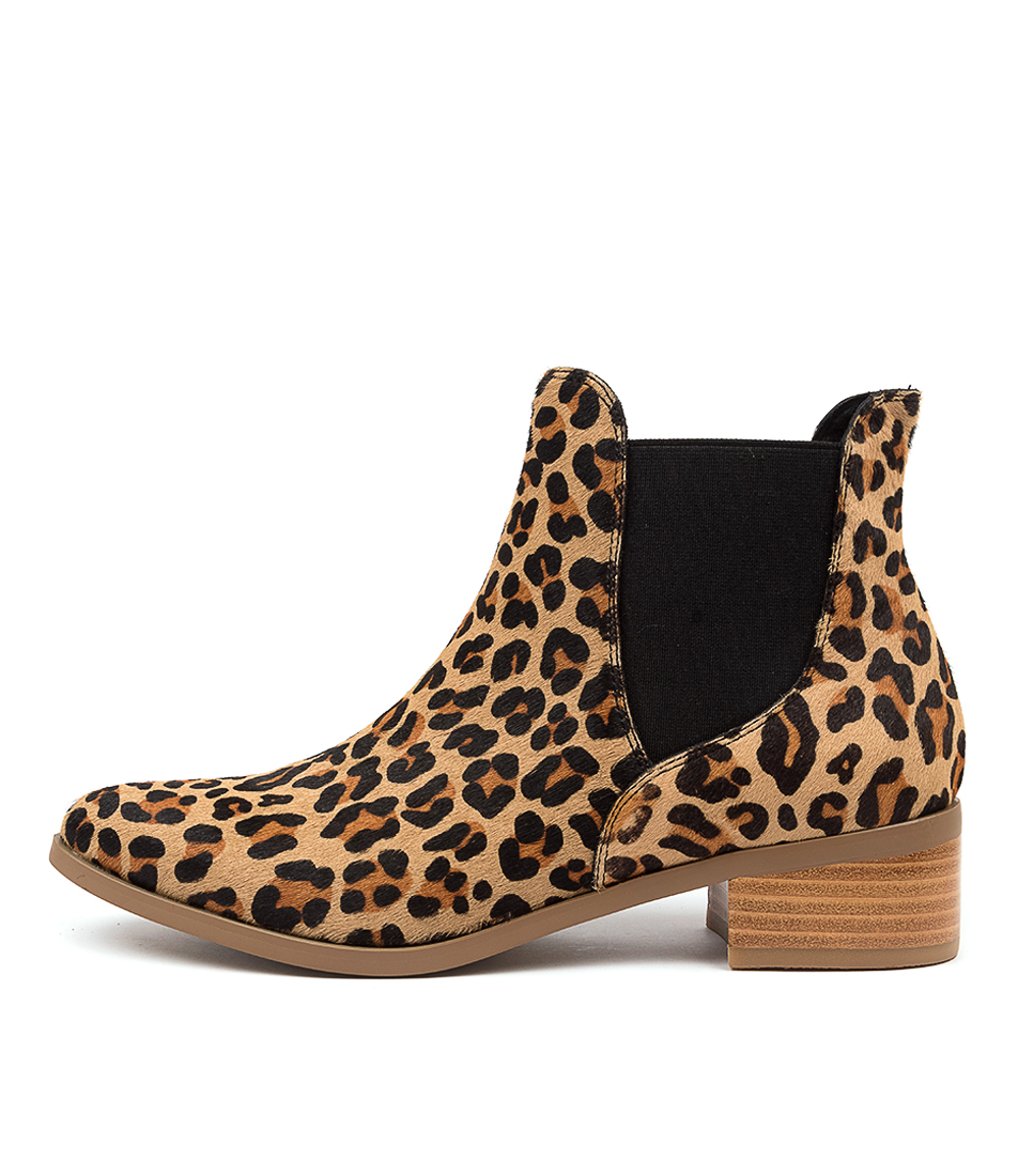 Buy Django & Juliette Pancho Ocelot Ankle Boots online with free shipping