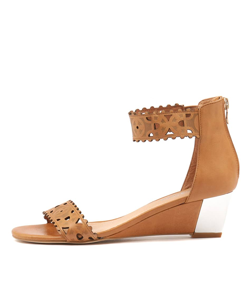 Django & Juliette Revoke Tan Heeled Sandals