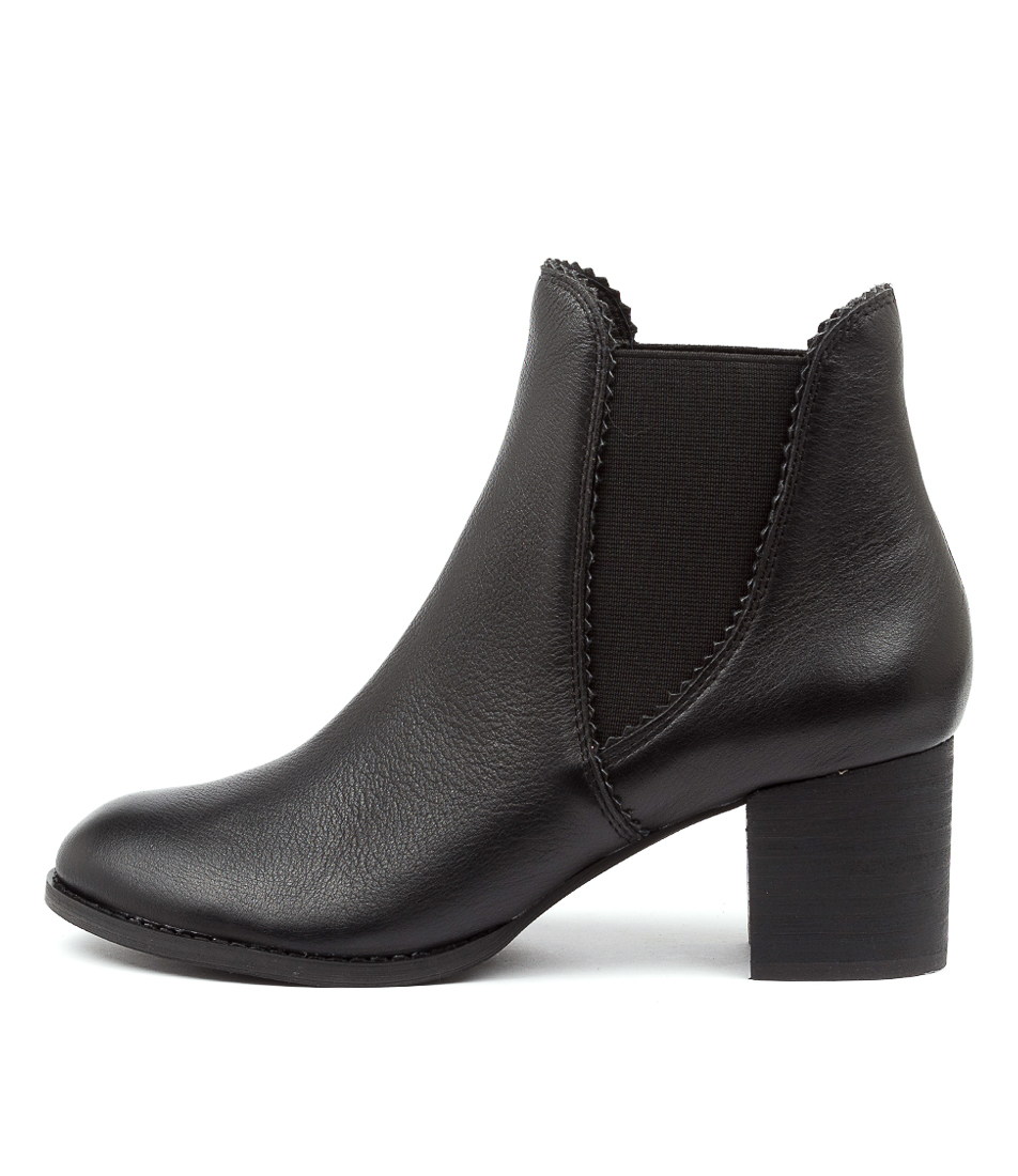 Buy Django & Juliette Sadore Black Heel Dress Ankle Boots online with free shipping