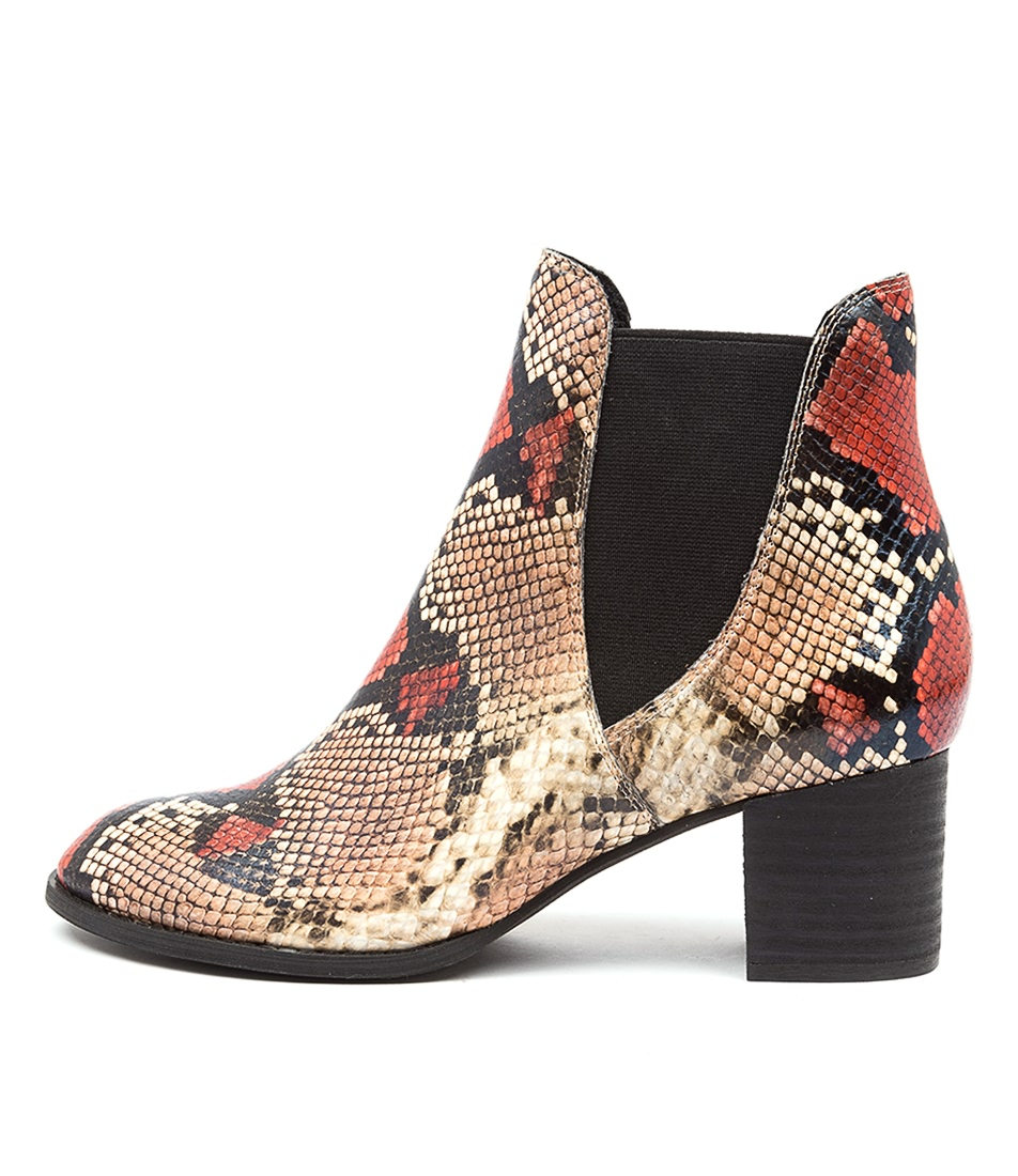 Buy Django & Juliette Sadore Rusty Multi Ankle Boots online with free shipping
