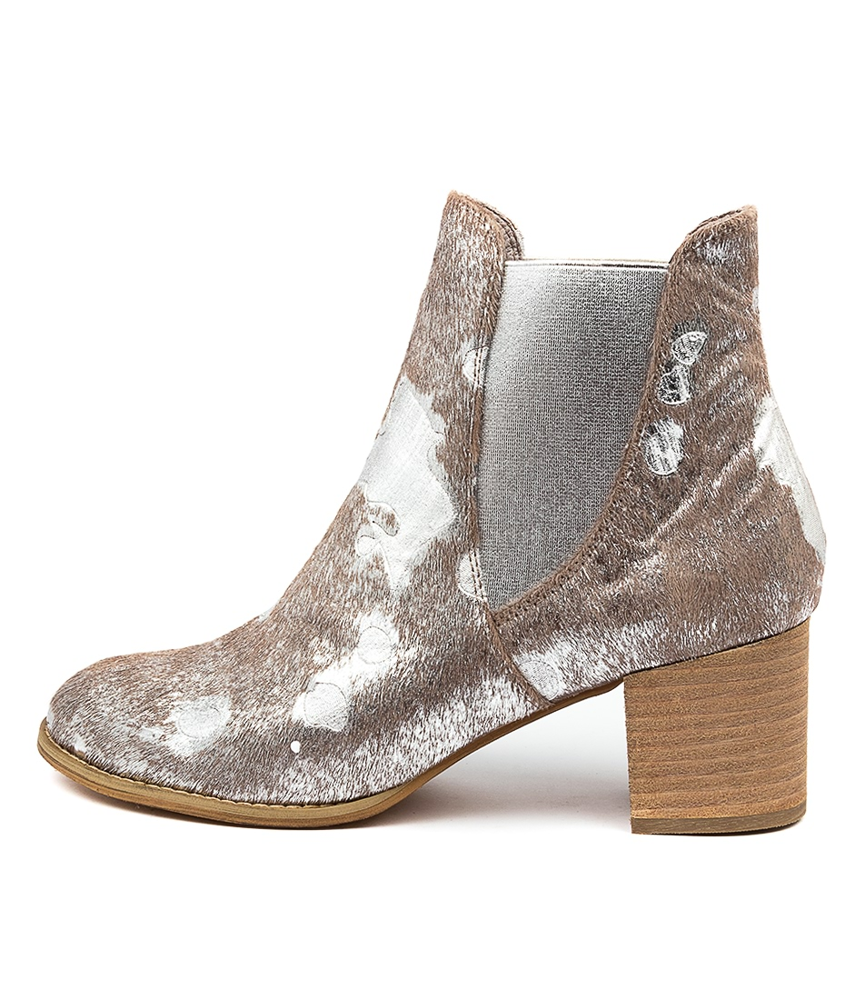 Buy Django & Juliette Sadore Misty & Silver Ankle Boots online with free shipping