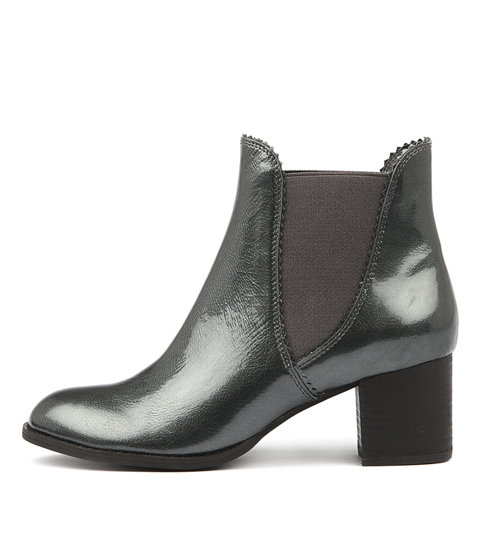 Photo of Django & Juliette Sadore Pewter Ankle Boots womens shoes